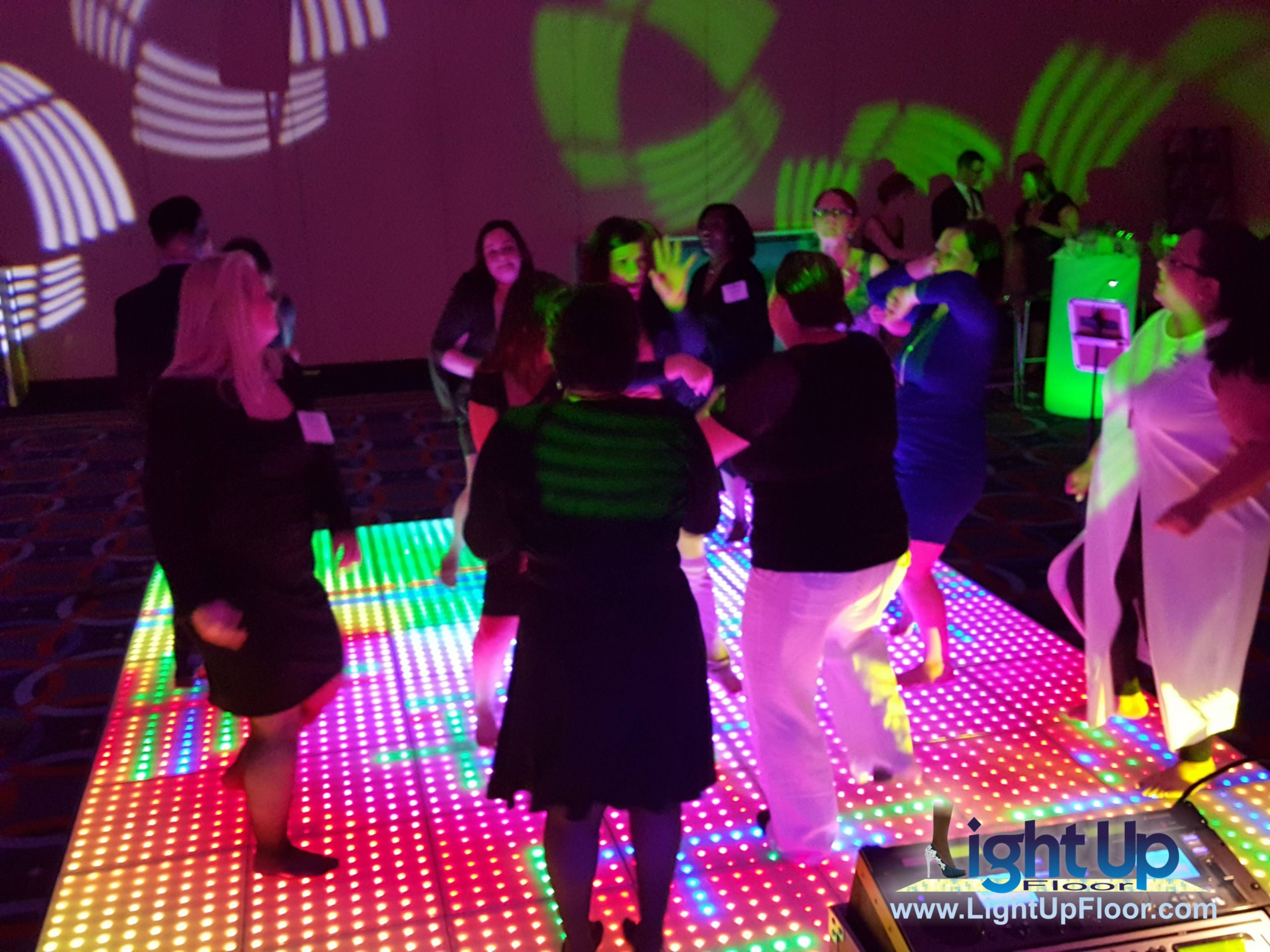 Interactive Party Dance Floor